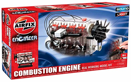 Airfix A42509 Engineer Combustion Engine Real Working Model (Model Engine Kits)