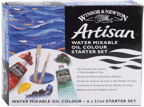 Reeves Winton Artisan Water Mixable Oil Paint Starter Set from WINSOR & NEWTON / COLART