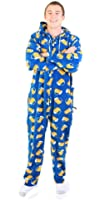 Forever Lazy Unisex Non-footed Adult Onesie One-Piece Pajama Jumpsuit