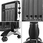 Duronic-HV220-Stufa-elettrica-Portatile-2000-W–Pannello-radiante-Mica-con-termostato–2-Livelli-di-Potenza-Riscaldatore-a-Basso-consumo–Riscaldamento-rapido
