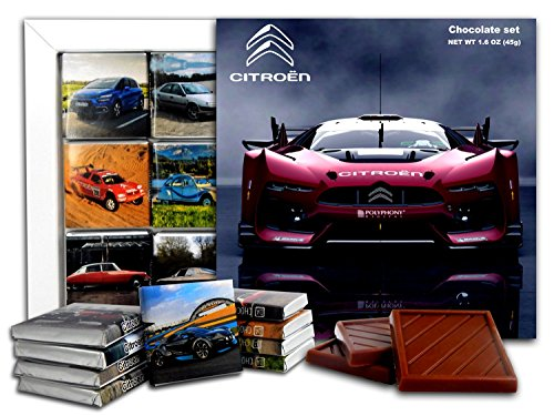 (DA CHOCOLATE Candy Souvenir CITROEN Chocolate Gift Set 5x5in 1 box (Concept))