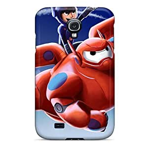 KerryParsons Samsung Galaxy S4 Scratch Resistant Hard Phone Cases Customized Lifelike Big Hero 6 Skin [mge713xCXo]