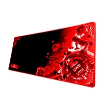 """ENHANCE GX-MP2 XL Extended PC Computer Gaming Mouse Pad Mat (31.5"""" x 13.75"""") with Low-Friction Tracking/Non-Slip Surface for DOTA 2 , Counter-Strike: Global Offensive , World of Warcraft and more"""