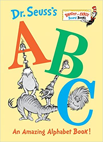 amazon com dr seuss s abc an amazing alphabet book