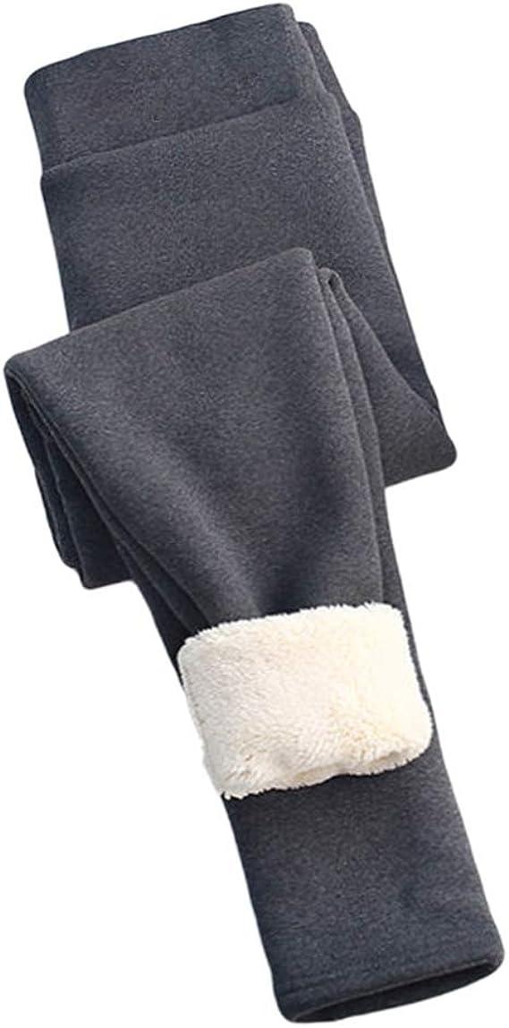 YOOH Leggings Donna Invernali Leggins Termici Donna Invernali Caldi Leggings Pacco da 1 Leggins Felpati Donna Vita Alta in Velluto Elasticizzato in Pile Taglia Unica