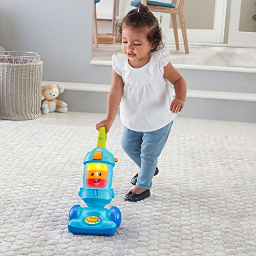 51ZpubeLfqL - Fisher-Price Laugh & Learn Light-up Learning Vacuum