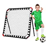 NET PLAYZ Easy Playz Portable Soccer Rebound Net, 4 Ft x 4 Ft