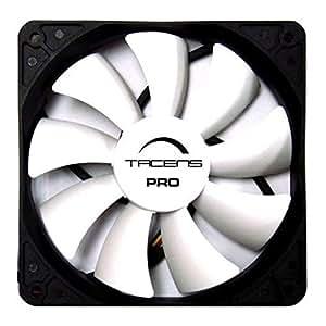 Tacens Aura Pro - Ventilador para caja de ordenador (rendimiento y refrigeración, 12 centímetros, ultra silencioso)