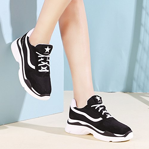 343f4e174a823 CAMEL CROWN Women s Two Wear Retro Fashion Sneakers Athletic Sports Walking  Shoes Casual Platform Chunky Dad