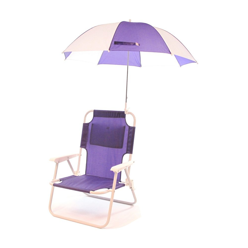 Amazon.com  Redmon Outdoor Baby Kids Beach Chair with Umbrella  Childrens Folding Chairs  Baby  sc 1 st  Amazon.com & Amazon.com : Redmon Outdoor Baby Kids Beach Chair with Umbrella ...