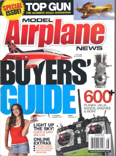 (Model Airplane News, Vol. 137, No. 8 (August, 2009))