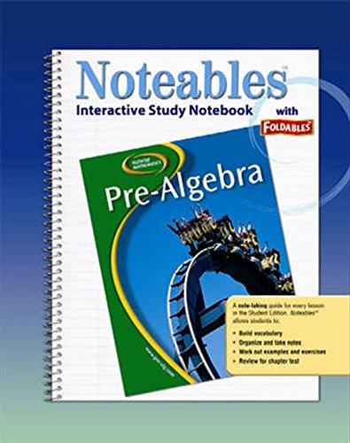 Glencoe Pre-Algebra, Noteables: Interactive Study Notebook with Foldables (MERRILL PRE-ALGEBRA)