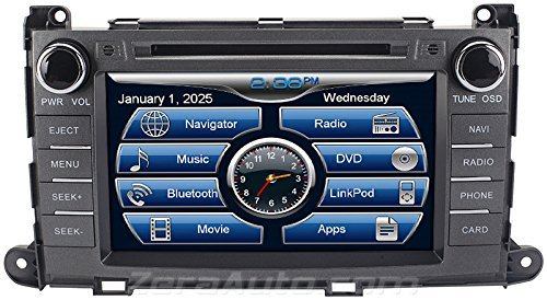 2011 2012 2013 2014 Toyota Sienna In-Dash Navigation Stereo