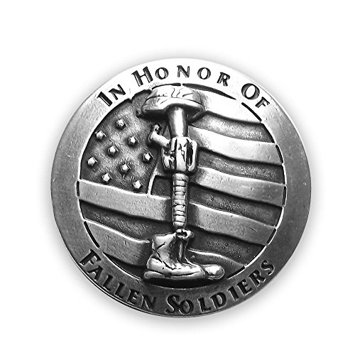 Fallen Soldier Designed Conchos