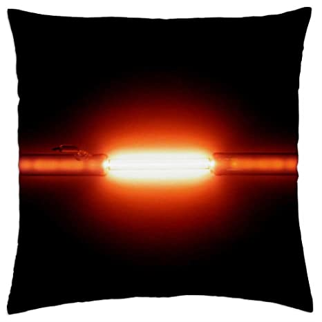 Tubo de descarga de helio - Funda de cojín (18: Amazon.es: Hogar