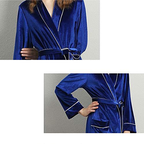 Elegante Pigiama Donna Sexy Notte E Veste Manica Classic Tuta Camicia Sunjng Autunno Abito Lunga xl Da Suit Accappatoio Home 0CqSwOw