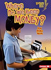 Have you ever put money into a bank account? Or withdrawn money to buy a video game? Then you've used a bank! Banks are businesses where people keep their money. Banks help us save and spend wisely. So how do banks work? What kinds of ...