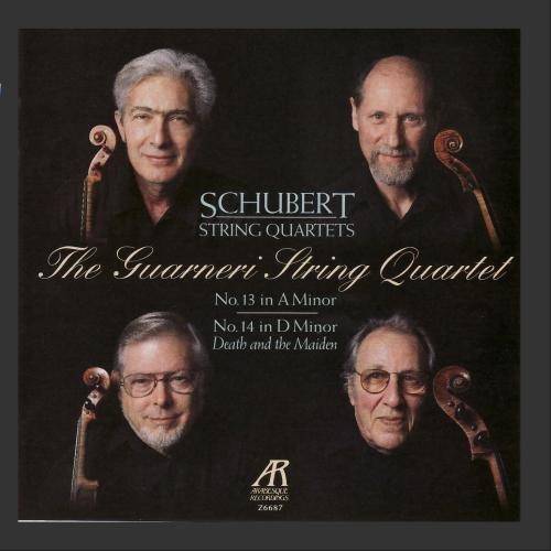 Schubert: String Quartet No. 13 in A Minor,  & No. 14 in D Minor ()
