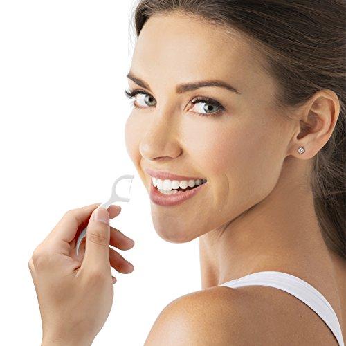 Dental Floss,DARIDO Dental Floss Picks 4 Packs with Travel Handy Case, 200 Counts Dental Floss Picks by DARIDO (Image #6)