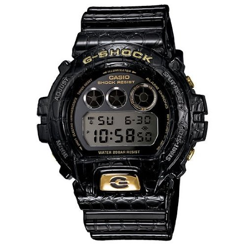 Price comparison product image Casio G-Shock Crocodile Textured Resin Mens Watch DW6900CR-1CR