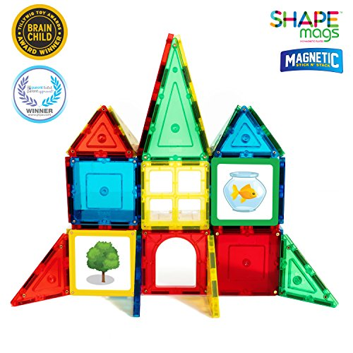 Magnetic Stick N Stack Tiles 40 Piece Junior Set