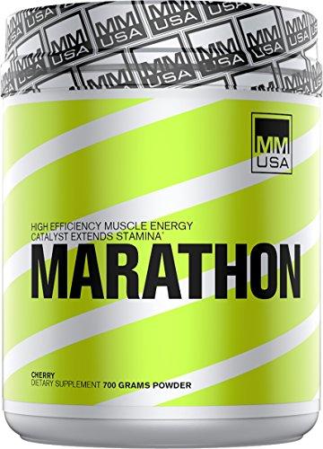 MMUSA MARATHON * ENERGY + FOCUS + ENDURANCE FOR LONG DISTANCE RUNNERS, 700 g,Cherry