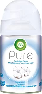 Air Wick Pure Freshmatic Refill Automatic Spray, Sunset Cotton, Air Freshener, 5.89 oz