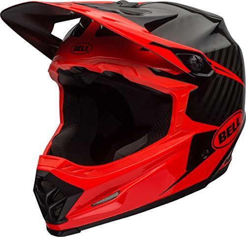 Bell Full-9 Helmet Infrared/Black, L