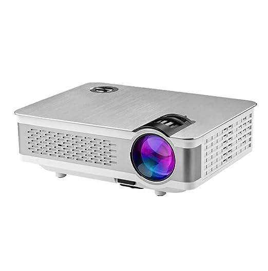Proyector Mini portátil, proyector HD casero, 3800 lúmenes, 200 ...