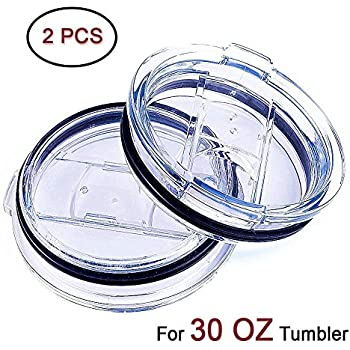 Amazon Com 2 Replacement Lids For 30oz Stainless Steel