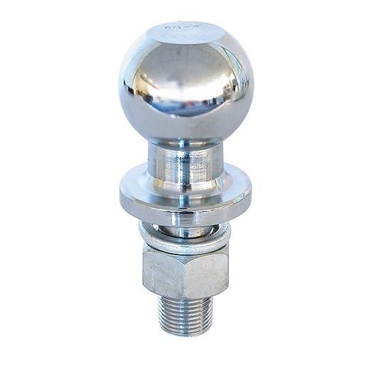 16 opinioni per Carpoint 0410209 Sfera per Avvitare, Diametro, 50 mm, M22X2.5 mm, 1.5 T