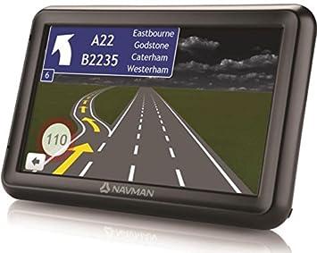 """GPS – Navman 5000 LM – GPS 44 Países de Europa Pantalla 5 """"y"""