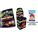 FREE CARD PACK Angry Birds Sticker Collection The Best Of Angry Bird Stickers