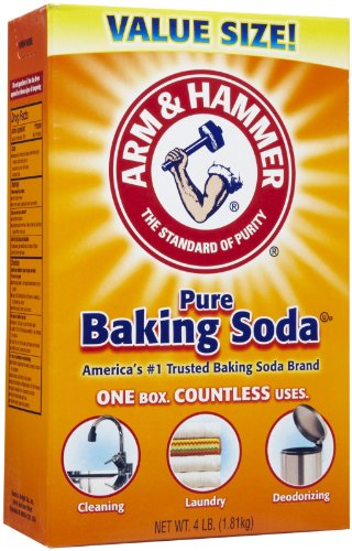 - Arm & Hammer Baking Soda Value Size 4 Lb (Pack of 2)