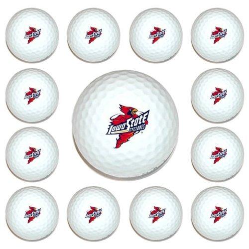 NCAA Iowa State Cyclones Golf Balls, 12 Pack B0153XFGOI