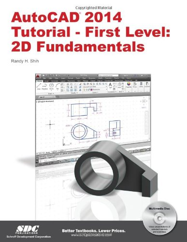 Amazon Autocad 2014 Tutorial First Level 2d Fundamentals
