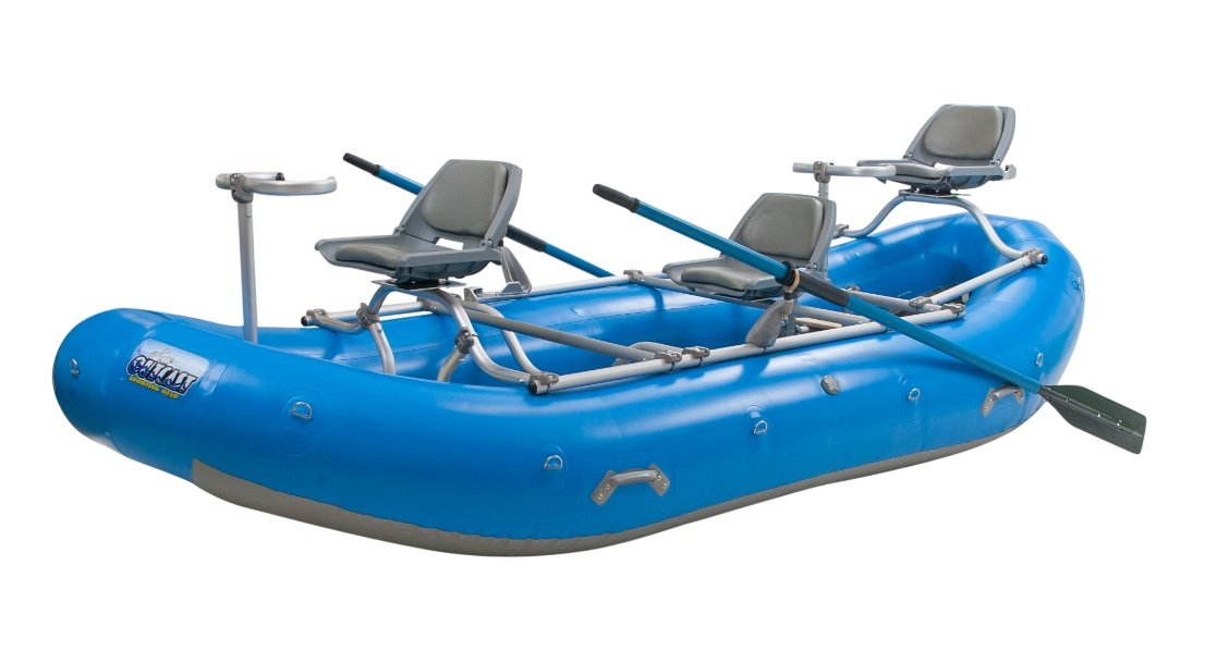 Outcast PAC 1400 Pontoon Boat - with $250 gift card and in lower 48 states! by Outcast