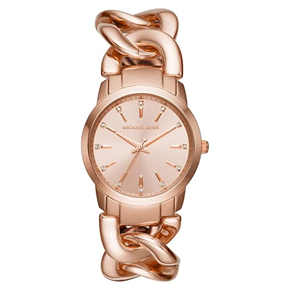 f9280a5b63ffed Michael Kors MK3609 Ladies Elena Watch: Amazon.co.uk: Watches