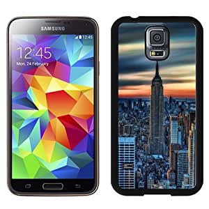 Beautiful Custom Designed Cover Case For Samsung Galaxy S5 I9600 G900a G900v G900p G900t G900w With New York City Daybreak Phone Case WANGJING JINDA