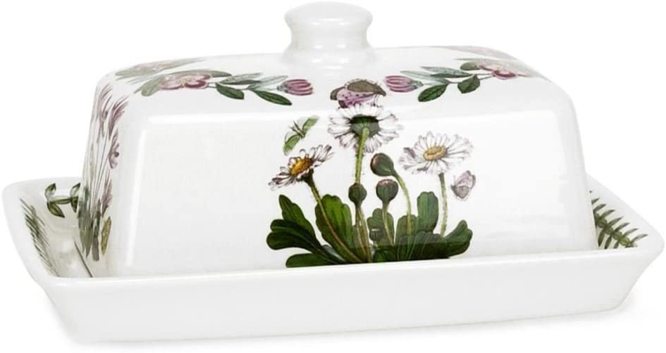 Portmeirion Botanic Garden - Covered Butter Dish