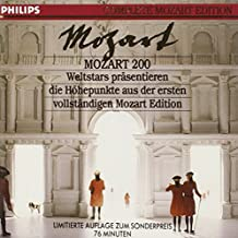 Complete Mozart Edition Highlights - Nine Complete Movements & Arias