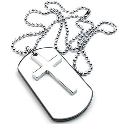 KONOV Womens Pendant Necklace Silver