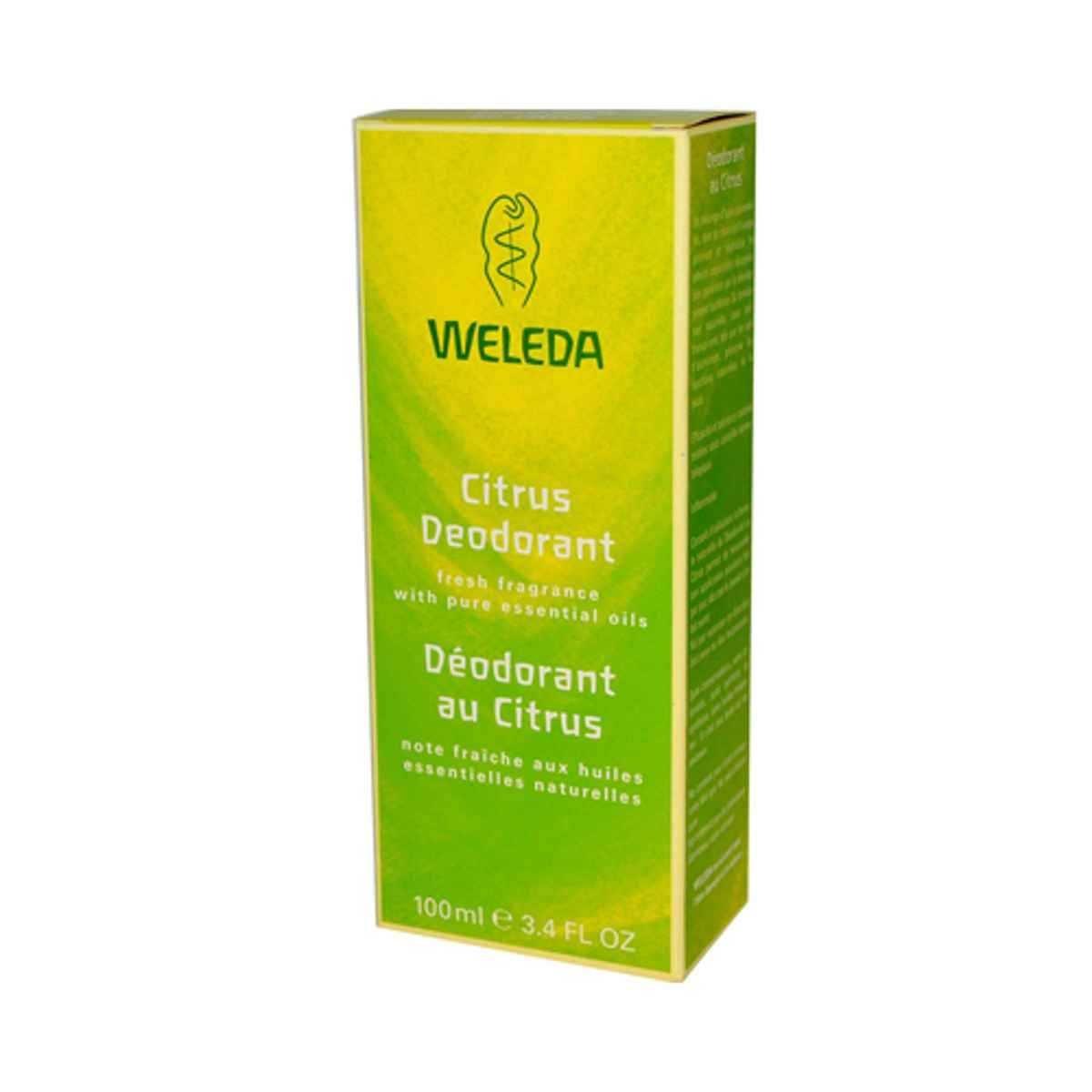 Weleda, Deodorant, Citrus, 3.4 oz Spray