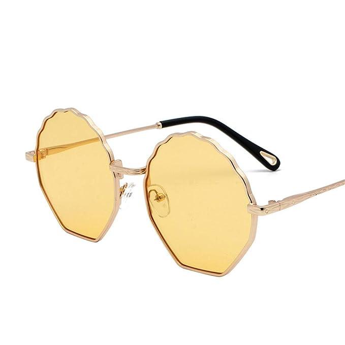 SenDi Gafas de sol - Las gafas de sol poligonales femeninas ...