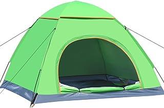 Instant Pop Up Randonnée étanche Tente de Camping 3–4Personnes (Vert) PlatiniumTech