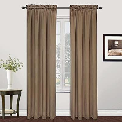 United Curtain Metro Woven Window Curtain Panel, 54 by 84-Inch, Taupe - Sold As Separates Fabric Content: 100% Polyester Care Instructions: Machine Wash Cold, Tumble Dry Low, Cool Iron, Never Bleach - living-room-soft-furnishings, living-room, draperies-curtains-shades - 51Zq2eC46sL. SS400  -