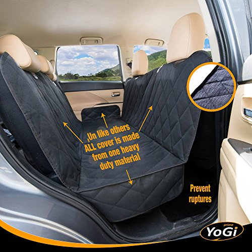 YoGi Prime Big Pet Car Seat Cover For Dogs By Heavy Duty