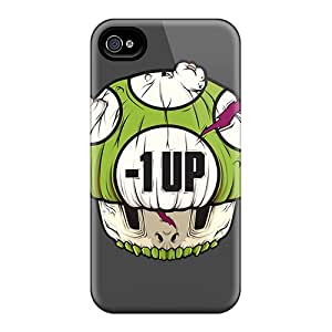Hot Tpu Cover Case For Iphone/ 4/4s Case Cover Skin - Negative 1up