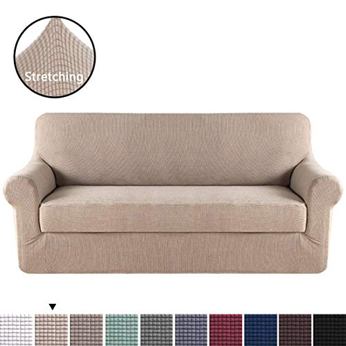 H.VERSAILTEX 2 Piece Sofa Cover, Chair Covers,