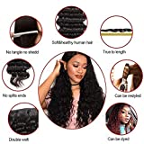 8A Brazilian Virgin Human Hair Water Wave 3 Bundles